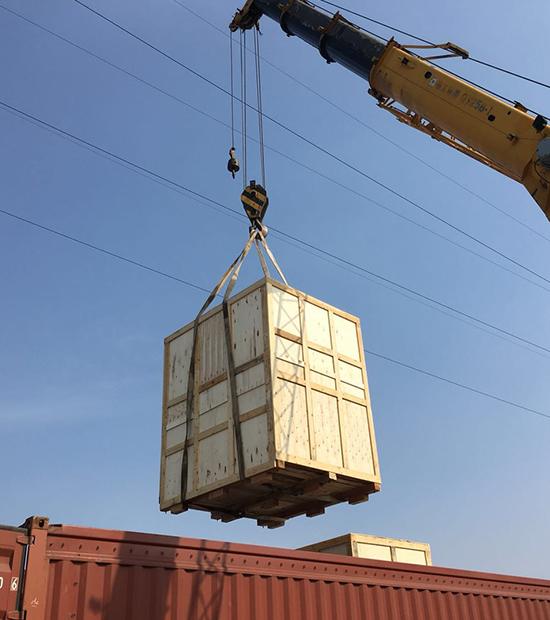 集装箱货物运输加固